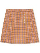 Gucci Children's Check Wool Skirt - Fantasia