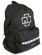 Balenciaga Logo Patched Backpack - Nero