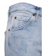 Dsquared2 Denim Jeans With Tear Detail - Blu