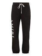 AMIRI Logo Print Sweatpants - black