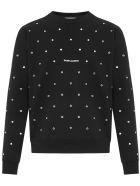 Saint Laurent Sweatshirt - Nero/Argento