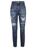 Dolce & Gabbana Distressed Jeans - Denim