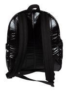 Saint Laurent Logo Front Backpack - Black