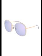 Pomellato PM0081S Sunglasses - Grey Gold Violet