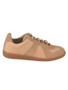 Maison Margiela Paneled Sneakers - Beige