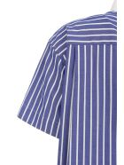 Sacai Cotton Poplin Dress - Stripenavy