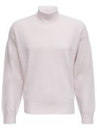 Z Zegna White Wool Blend Sweater - White