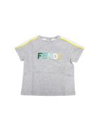 Fendi T-Shirt - Dev Grigio Verde