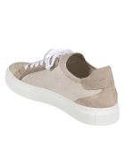 Brunello Cucinelli Classic Low-top Lace-up Sneakers - Beige