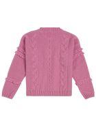 Il Gufo Pink Woven Wool Sweater - Pink