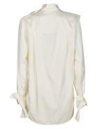 Victoria Beckham Classic Plain Blouse - White