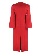 Fendi Wool And Silk Mini Dress - red