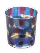 Le Botteghe su Gologone Glass Colored 8,5 X 9 Cm - Blue