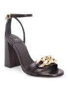 Islo 'giove' Leather Sandals - Black