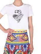 Dolce & Gabbana Crew Neck T-shirt - BIANCO
