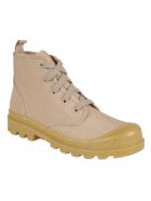 GIA COUTURE Hi-top Lace-up Sneakers - Nude Brown