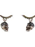 Alexander McQueen Skull Earrings - Silver