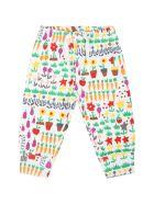 Stella McCartney Kids White Tracksuit For Baby Kids - Multicolor