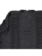 Alexander McQueen De Manta Satchel Bag - Black