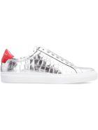 Givenchy Urban Street Metallic Sneakers - silver