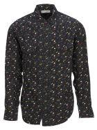 Saint Laurent Shirt Multi Stars - Nero