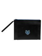 Kenzo Small Tiger Large Clutch - Black