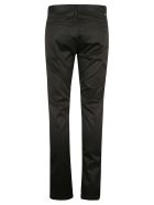 Saint Laurent Regular Fit Plain Trousers - Black Raw
