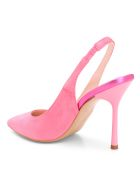 Islo 'gang' Leather Pumps - Fuxia