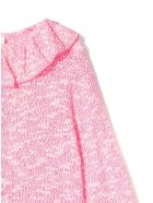 Douuod Rose-pink Cotton-blend Blouse - Fuxia