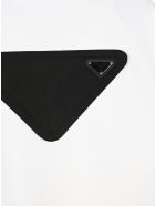 Prada Oversized  Hoodie - WHITE BLACK PRINT