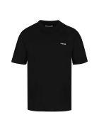 PTRCRS by Christian Petrini Crew-neck Cotton T-shirt - black