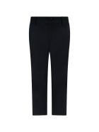 Armani Collezioni Blue Trouser For Boy With Iconic Eagle - Blue
