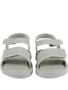 Melissa Green Sandals For Kids With Logo - Green