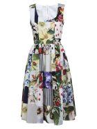 Dolce & Gabbana Floral Sleeveless Dress - Multicolor