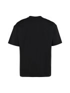 Vision of Super Printed Cotton T-shirt - black