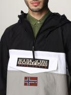 Napapijri Jacket Rainforest S Block 1 Anorak Napapijri Jacket - Grey
