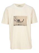 Saint Laurent Surfer T-shirt - ECRU