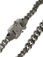 1017 ALYX 9SM Hero 4x Chain Necklace - Silver