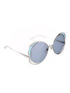Chloé CH0024S Sunglasses - Silver Silver Blue