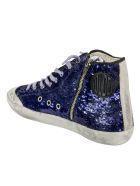 Golden Goose Francy Penstar Classic Sneakers - Blue/Ice