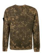 Stone Island Round Neck Sweatshirt - Brown