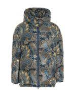 Etro 'paisley' Down Jacket - Multicolor