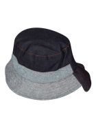 J.W. Anderson Asymmetric Bucket Hat - Blue