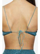 Oseree Lumiere 90s Balconette Beachwear - blue