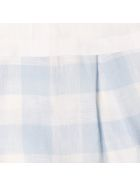 Il Gufo 2 Pcs Cotton Jumpsuit Il Gufo - Bianco-azzurro