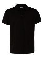Saint Laurent Classic Plain Polo Shirt - Black
