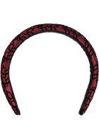 Elie Saab Multicolor Hairband For Girl - Bordeaux