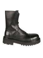 VETEMENTS Zip-up Combat Boots - Nero