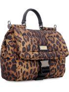 Dolce & Gabbana Nylon Messenger Bag - Animalier