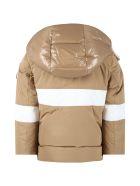 Moncler Beige ''olcay'' Jacket For Boy - Beige